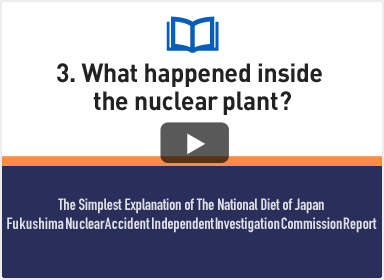 3. What happened inside the nuclear plant?